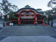●本殿@伏見稲荷大社  本殿です。 応仁の乱で全焼したのち、1499年に再興しました。 時間の流れが、さすが、京都ですね。 コロナの終息をお願いしてきました。