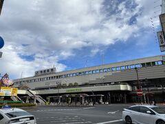 レンタカーを返して新幹線で宇都宮駅へ 宇都宮には過去に一度東北旅行の帰りに餃子を食べるためだけに寄ったことがあるのですが駅ビルから出るのは初めてです。