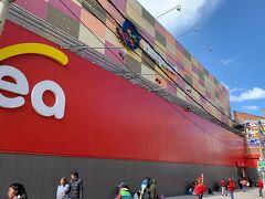 プーノ駅近くのPuno Plaza Vea プーノに近代スーパーができていてビックリ