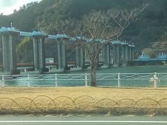 続いて、船明ダムへ行きました。結構大きいですよ。