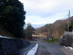 時間もあったので福島駅まで歩いて戻る。途中の信夫山公園付近。