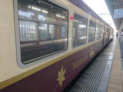 思い付きで決めたので、もうトロッコの席はなし!!その為普通列車の旅です。 時刻表とにらめっこして、行きたい場所を考えます。