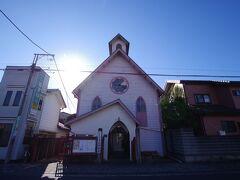意外にも厄除け大師の近くにはこの日本キリスト教団佐野教会と、カトリック佐野教会というふたつの教会がありました。