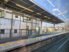 高尾を出て次の相模湖駅でいきなりの特急電車の通過待ちでしばらく停車することになりました。