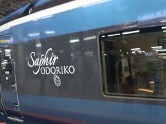 伊豆高原駅からサフイールで東京駅に戻りました。