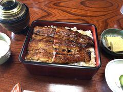 上うな重 4730円   美味しいけど、成田で食べたうなぎの方が満足感アリかな。