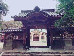 日長神社へ