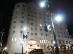 アスパムからホテルまでは歩いてすぐ。