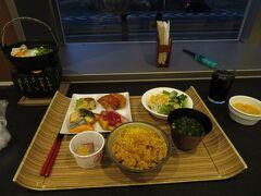 北の庭 THE KURETAKESOで朝食