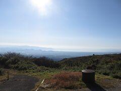 レストハウスフジビューから見る駿河湾