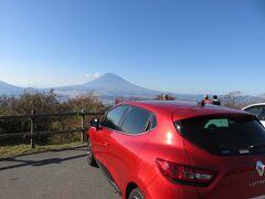 14:09 三国峠から見る富士山