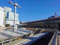 腹ごしらえができたので、観光に向かいます。仙台駅にやってきました。