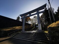 次に仙台城跡にやって来ました。
