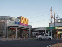 南浦和で武蔵野線、南流山でつくばエクスプレス(TX)に乗り換えました。