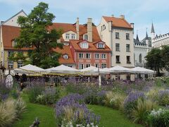 ラトビア、リガ歴史地区のほぼ中心にあるリーヴ広場