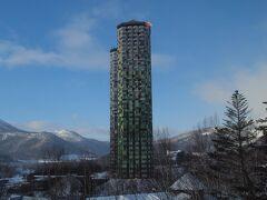 ヴィレッジの窓から見えるタワー