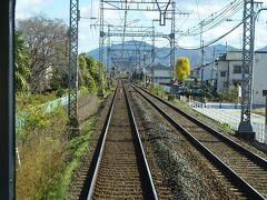 大和八木駅を出ると、しばらくは平地を快走。