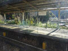 室生口大野駅。 室生寺などの最寄り駅で、フォートラさんでも時々お見かけする駅。