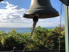 恋人の丘に寄ってみました。さすがにこの時間だと龍恋の鐘は無人でした。