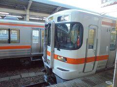 1610 浜松発 三島行きに乗車します。