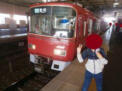 準急豊明行きに25分ほど乗車し前後駅に到着しました。