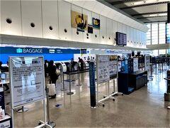 那覇発12時50分 → 福岡14時35分着の便で 次の目的地、福岡へ。 ご覧のように、那覇空港はしておりました