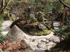 続いて「宝泉院」へ。小さな石庭だが円錐形は須弥山を模したものではないかというのが自分の解釈。