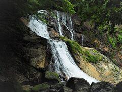 雷霆(らいてい)の滝、復路登ります