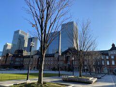 今年初の旅行は東京駅からスタート。
