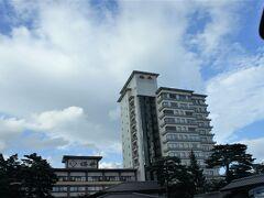 上里から1時間半ほどで、今夜のお宿に到着~  草津温泉ホテル桜井