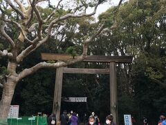 折角なので、近くにある熱田神宮へ参拝しましょう。