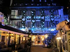 """いつの間にか""""ホテル・ル・マレシャル""""の前に来ていました。憧れのホテルです。"""
