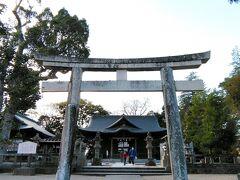 敷地内には「松江神社」もあるので、参拝してきました。
