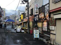 函館朝市です。