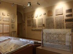 【大司教博物館】  ここにやって来たお目当ては博物館の展示品ではなく 博物館内にある『サンタンドレア礼拝堂』のモザイクなのです。