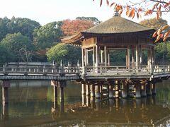 ●浮見堂@奈良公園  鷺池の浮見堂。