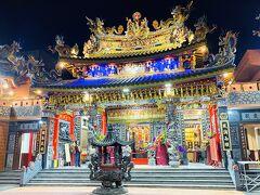 鳳邑舊城城隍廟。夜間に訪れたのは初めて。思いの外、美しい。