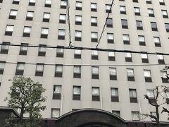 大阪の宿泊は「三井ガーデンホテル大阪淀屋橋」。2泊で9000円とお手頃です。