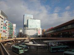 今年、幾度となく登場した仙台駅。 お馴染みとなりました、このアングル。何枚写真撮っただろう。