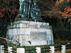坂本龍馬と中岡慎太郎像
