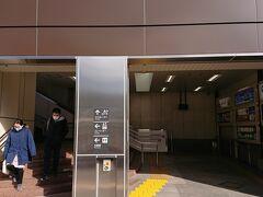 JRを利用して帰ります。  武蔵野線と京浜東北本線の交点にあります。