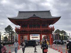 毎年我が家は正月に犬山成田山へ車の御祈祷に行きます