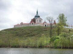 丘の上の【世界遺産】聖ネポムツキー巡礼教会