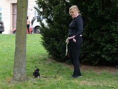 【世界遺産】クトナーホラに到着したら飼うさぎがお散歩していました
