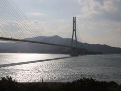 念願のしまなみ海道はここで断念(>_<)広島市内からじゃ遠いんですね。  機会があったら、広島側から愛媛へ周遊旅したいなぁ