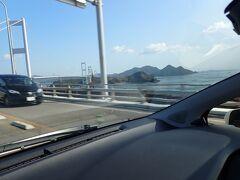 初めての四国旅行も最終日。 名残惜しいですが・・今日は広島へ向かいます。  道後温泉から今治へ。 そこからしまなみ海道へ進みます。