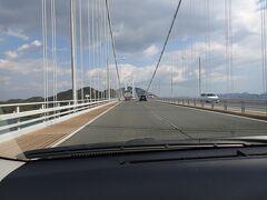 因島から向島を経ていよいよ広島尾道へ向かいます。