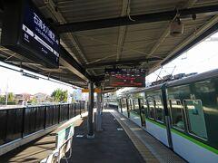 淀屋橋から京阪に乗って、石清水八幡宮駅(旧八幡市駅)に到着。 八幡市駅の駅名が変わったことをすっかり忘れていて違和感。