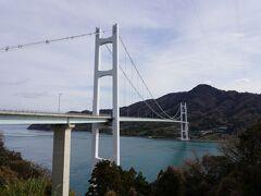 とびしま海道、平羅橋スキップで豊浜大橋。
