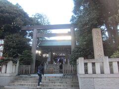 駅から5分くらい歩き、東京大神宮に到着 もう1月も10日となっていますが、まだ初詣の方も結構いらっしゃいました